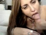 Cock hungry Argentinian blowjob