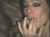 What a fucking hot MILF blowjob