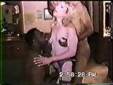 Swingers invite 2 black bulls to fuck his wife