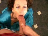 Bored and lonely married housewife cheats on video