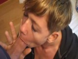 Milf really enjoys swallowing his cum