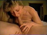 Hot 69 blowjob and dildo action from wife
