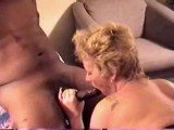 Middle aged lady banged by 2 blacks