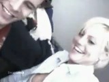 Hot blonde fucks her boyfriend on the computer