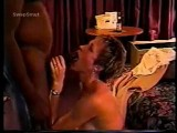 Wife cuckold with black man in hotel
