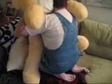 Diaper fetish sissy fucking teddy bears and strapon