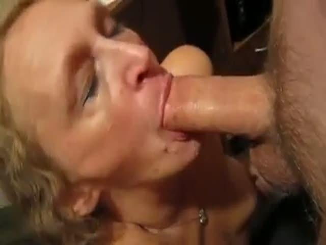 Mature Wife Cock Sucking