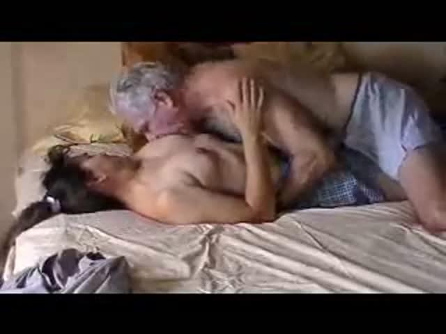 Old couple cuckold