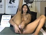 Indian chick punishing her holes