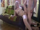 Hot blonde college sextape