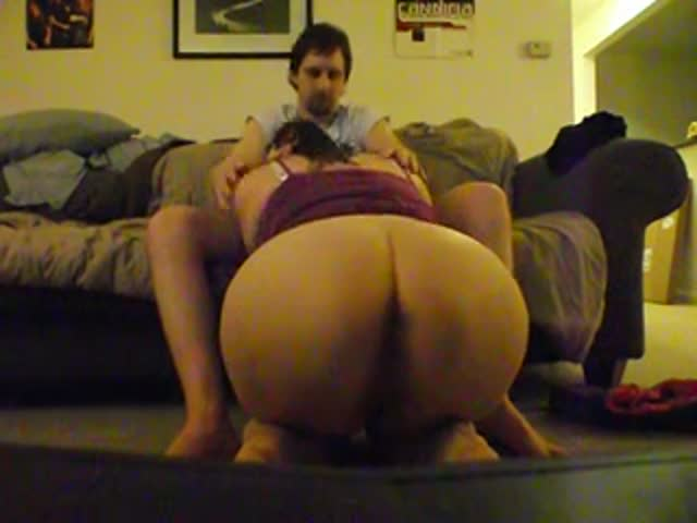 Fat girl blowjob