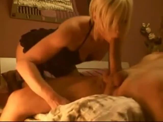 French Milf Blonde Anal