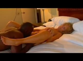 Mature wife cuckolds hubby and takes BBC seed in her pussy
