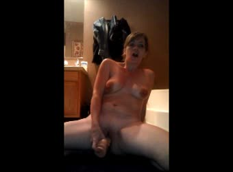 Hot Milf Squirts On Her Dildo