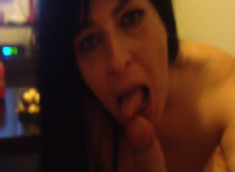 Mature latina dirty talking suck and stroke
