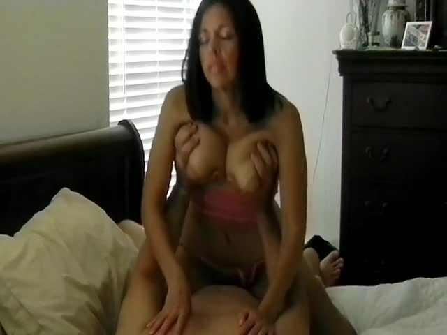 Milf Mature Riding Dildo