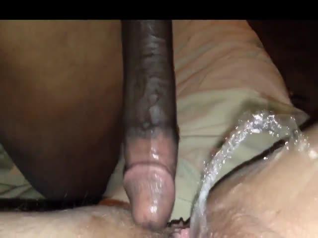Ebony Creamy Squirt Bbc