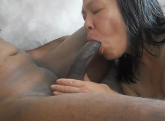 My asian wife loves sucking BBC