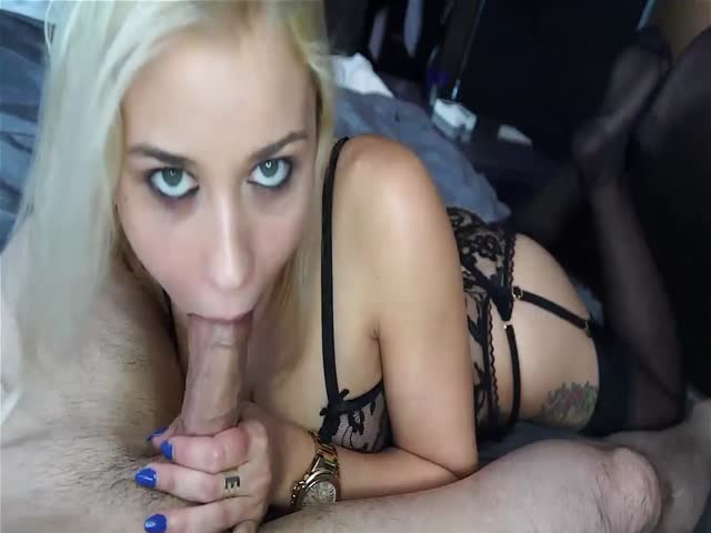 Blonde Stepmom Pov Blowjob