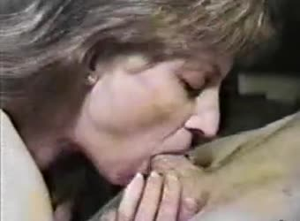 Vintage wife great blowjob