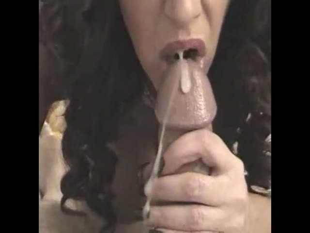 Incredible. cum in mouth tube