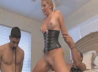 Amateur cuckold hubby and his bitch wife