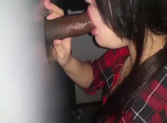 Cuckold wife sucking first black dick at gloryhle