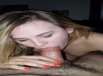 Lip grip cum swallow