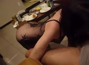Asian real homemade
