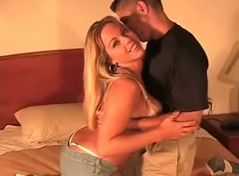 Amazing hotwife meets her lover in hotel