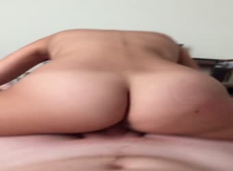 My ex riding my cock