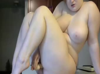 Long dildo ride as requested