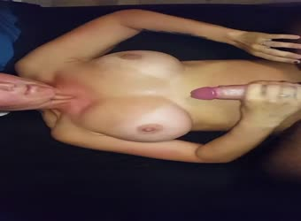 Cum on milfy natural big tits