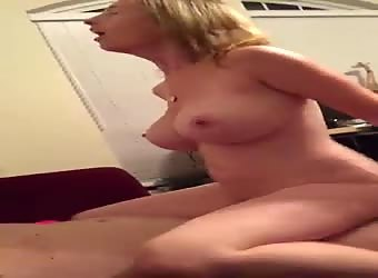 Mature Wife Has Crazy Tits And Likes To Ride