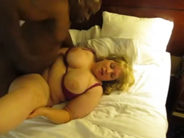 Bbw white wife taking bbc