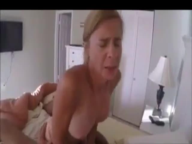 Blonde Rides Black Cock