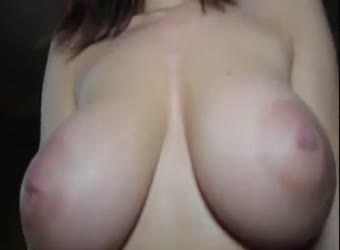 Beautiful busty big white cock creampie