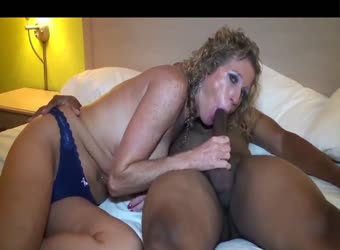 Freckled mature white wife gets bred by black