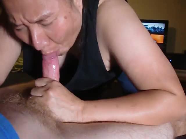 Mature Busty Cum Swallow