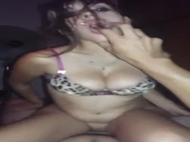 Teen Latina Riding Dick