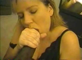 Hotwife Dawn swallows another black load