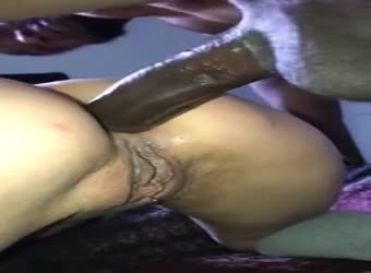 Hotwife goes balls deep anal with BBC