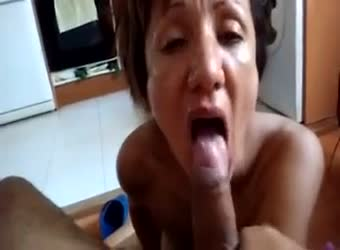Mature Date Loves Young Cum
