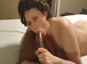 amateur granny loves when bbc cums inside