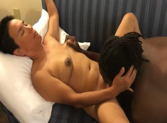 Asian mature wife shared with young bbc