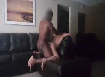 My black neighbor pounding my pussy