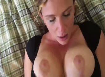 Curly haired GF fucked good by her hunky boyfriend