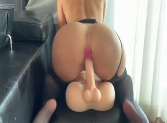 Fucking my pretend boyfriend big cock