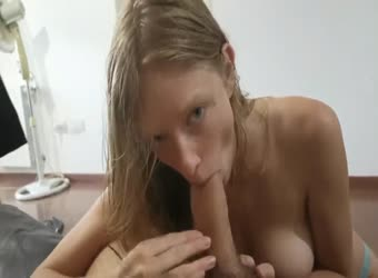 Perrfect Natural Tits GF Swallows After BJ And Titjob