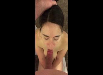 My shy wife dick in mouth